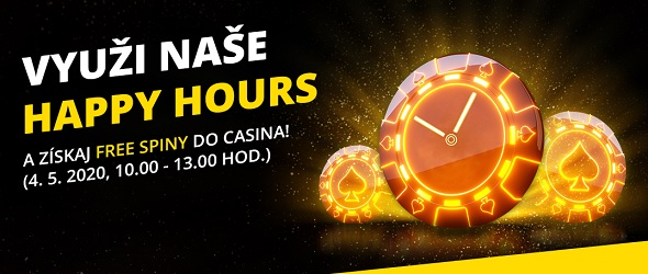 Happy Hours vo Fortuna online casine