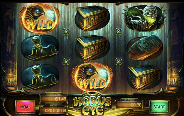 Horus Eye casino automat